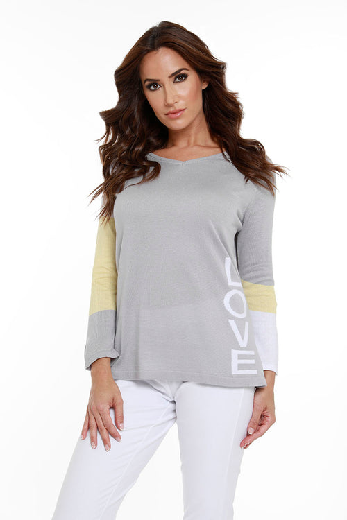 """LOVE ME"" V-Neck Top"