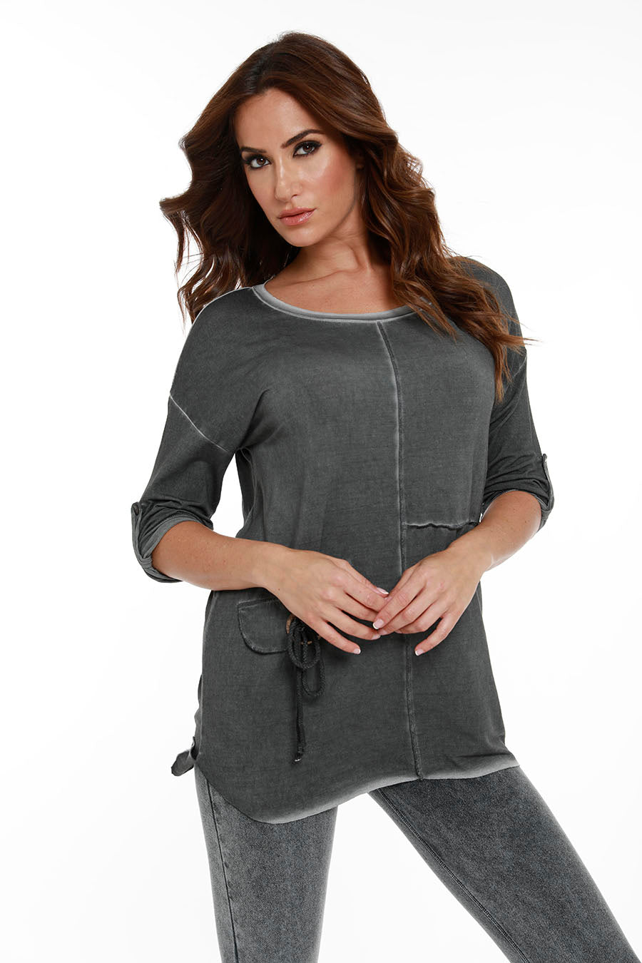 Stitch 3/4 Sleeve Tunic