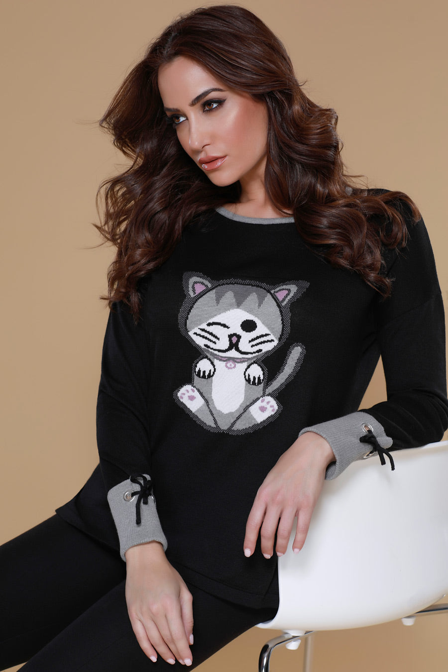 Kitty Paws Pullover