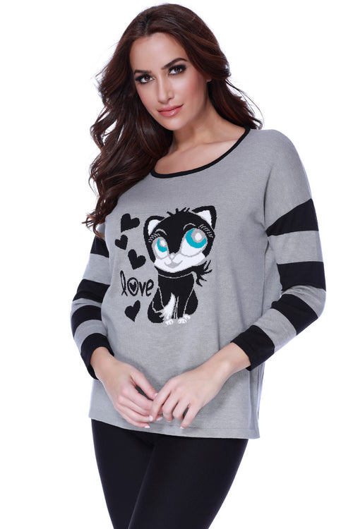 Kitty Love Pullover