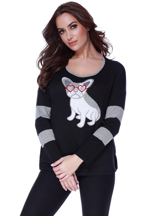 Puppy Eyes Pullover