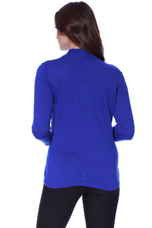 Long Sleeve Mock Neck