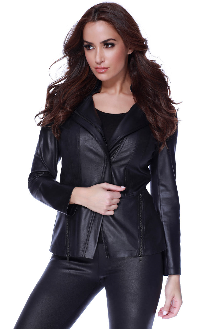 Microfiber Leather Jacket
