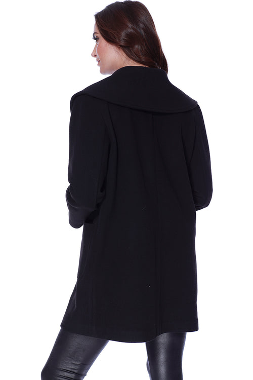Long Coat W/ Double Pockets