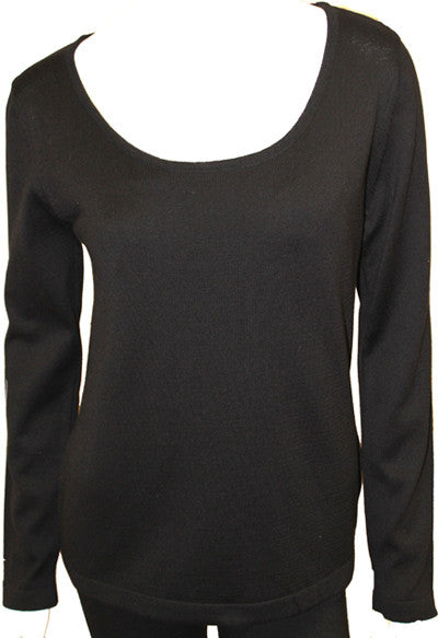 Long Sleeve Scoop Top