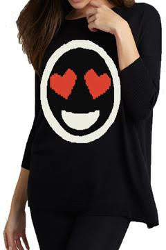 Smile in Love Emoji Top