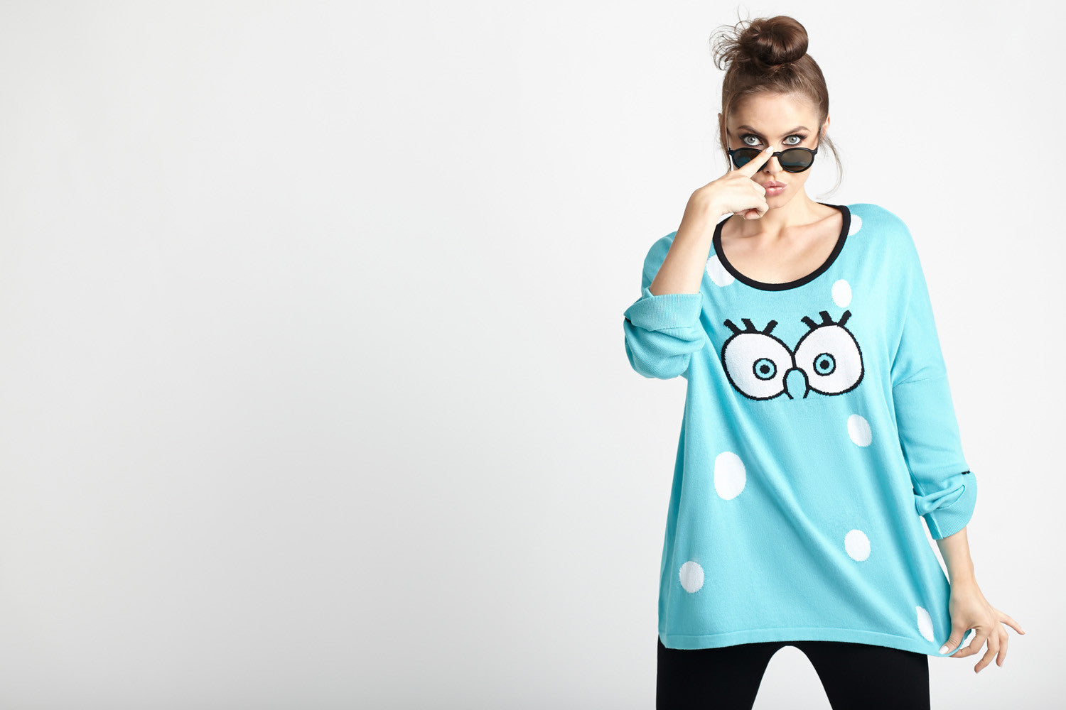 Cartoon Graphic Sweater