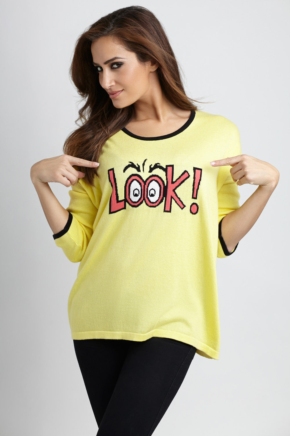 Look Graphic Sweater