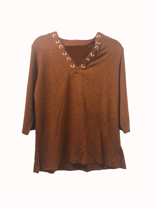 Supersoft V-Neck Top