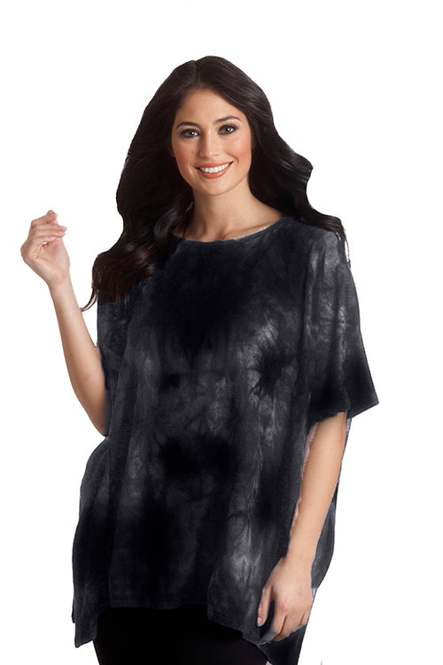 Super Soft Marble Poncho