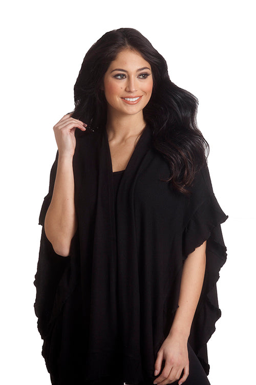 Supersoft Ruffle Wrap