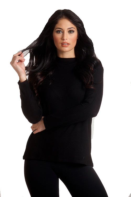 Supersoft Mock Neck Pullover
