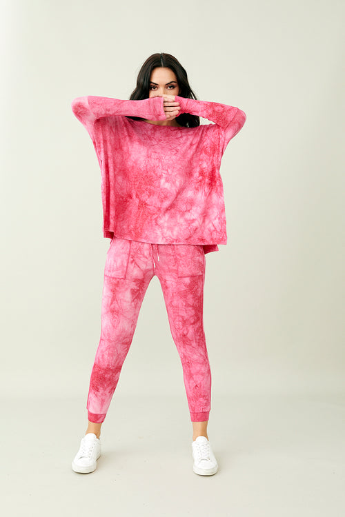Soft Stretch Jogger Tie Dye