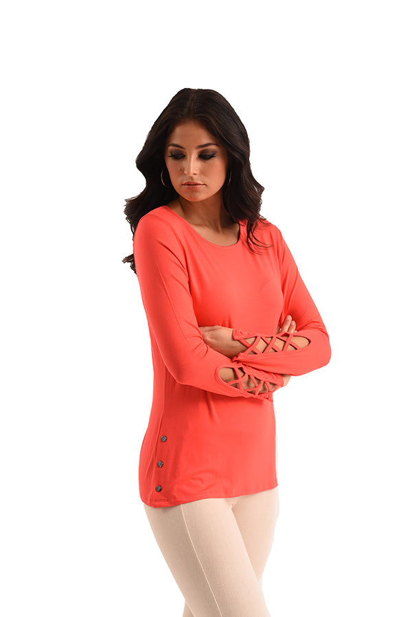 Arielle Long Sleeve Top