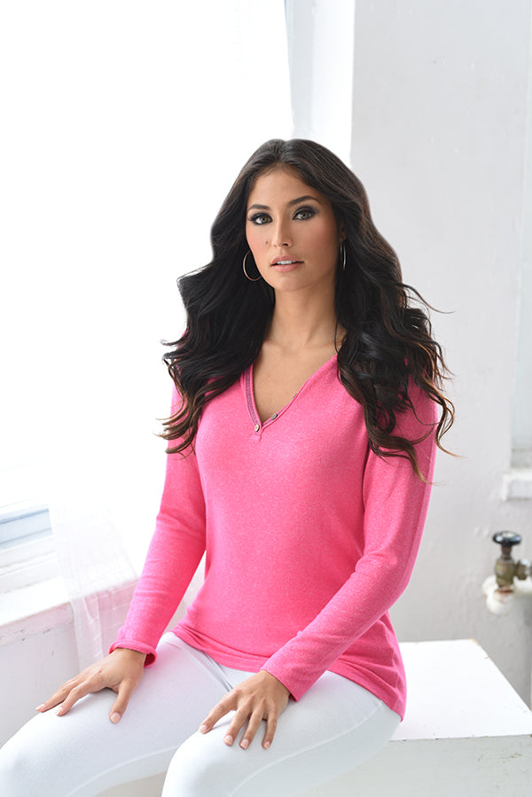 Jackson Long Sleeve Kashmira Top
