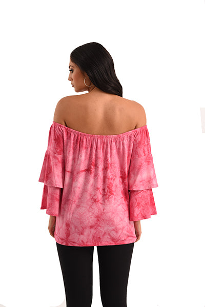 Hailey Tie Dye Kashmira Top