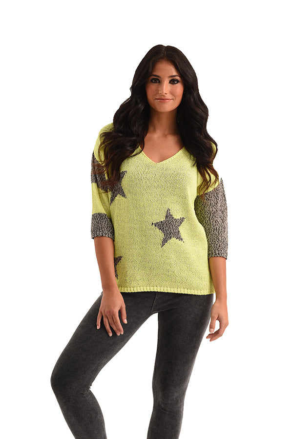 Mia Star Crochet Top