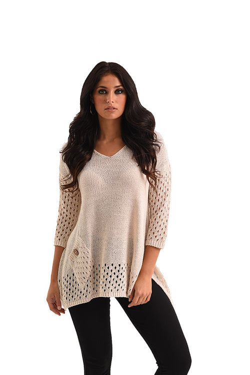 James Crochet Top