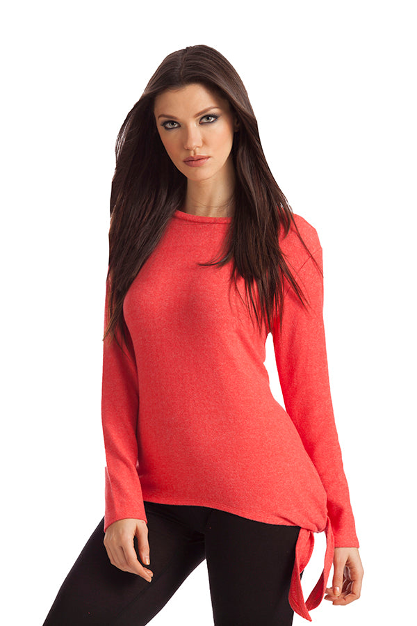 Ellie Side Tie Kashmira Sweater