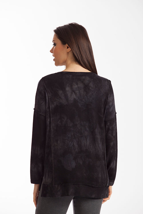 Tati Tie-Dye Kashmira Long Sleeve Top