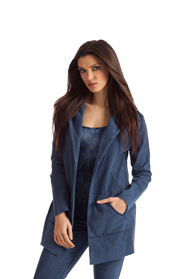 Monica Hooded Draped Cardigan