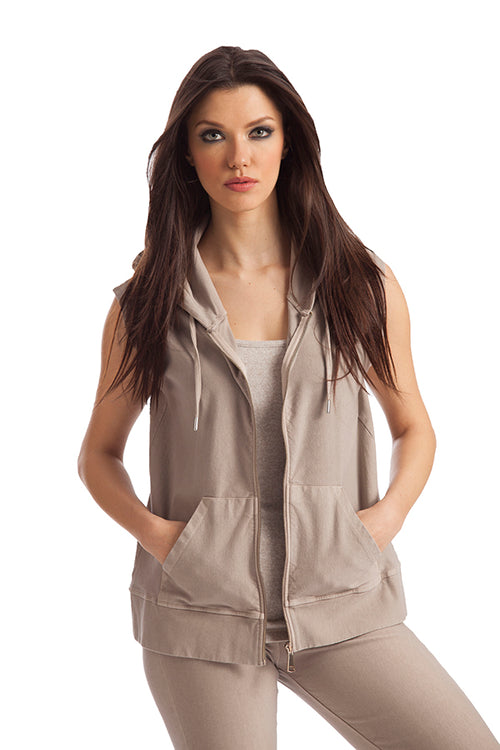 Leslie Hooded Vest
