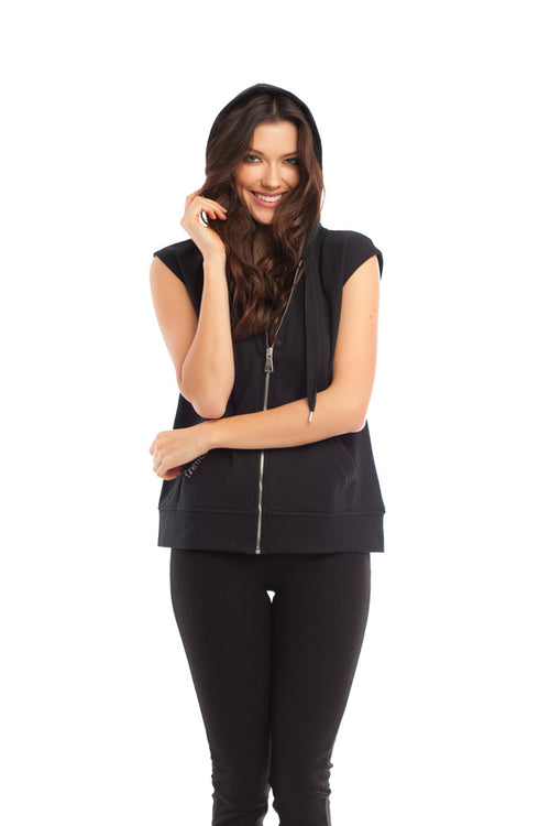 French Kyss Hooded Vest