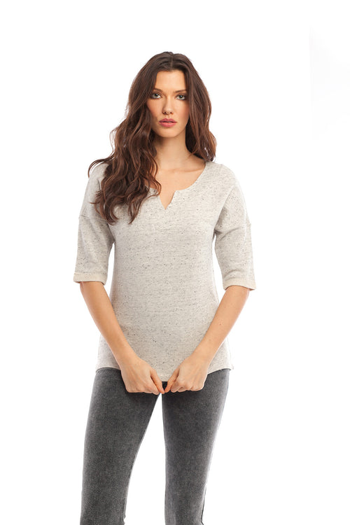 Brooke Side Tie Pullover