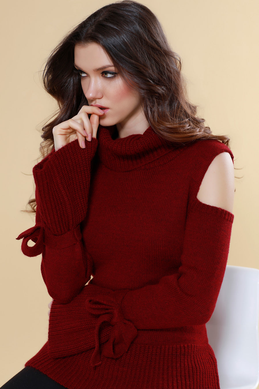 Madison Bow Sleeve Pullover