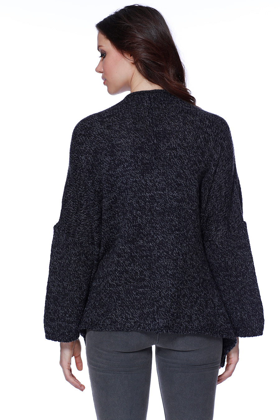 Camille Short Open Cardigan W/ Pockets
