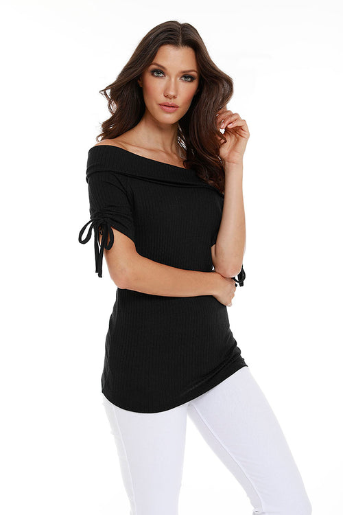 Kelly Boat Neck Top