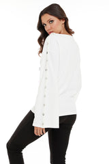Mariana Snap Sleeve Top