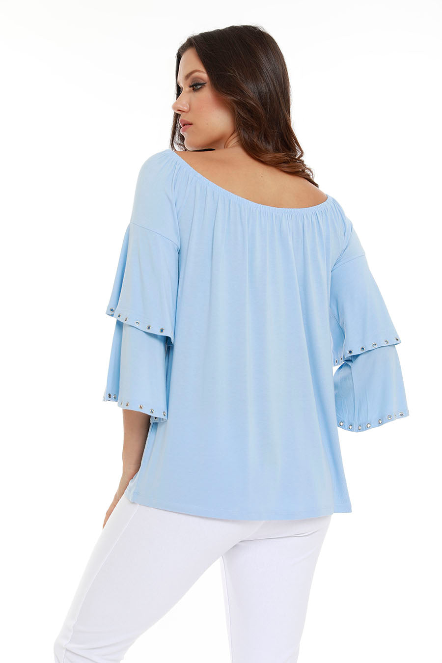 Emily Grommet Layered Top