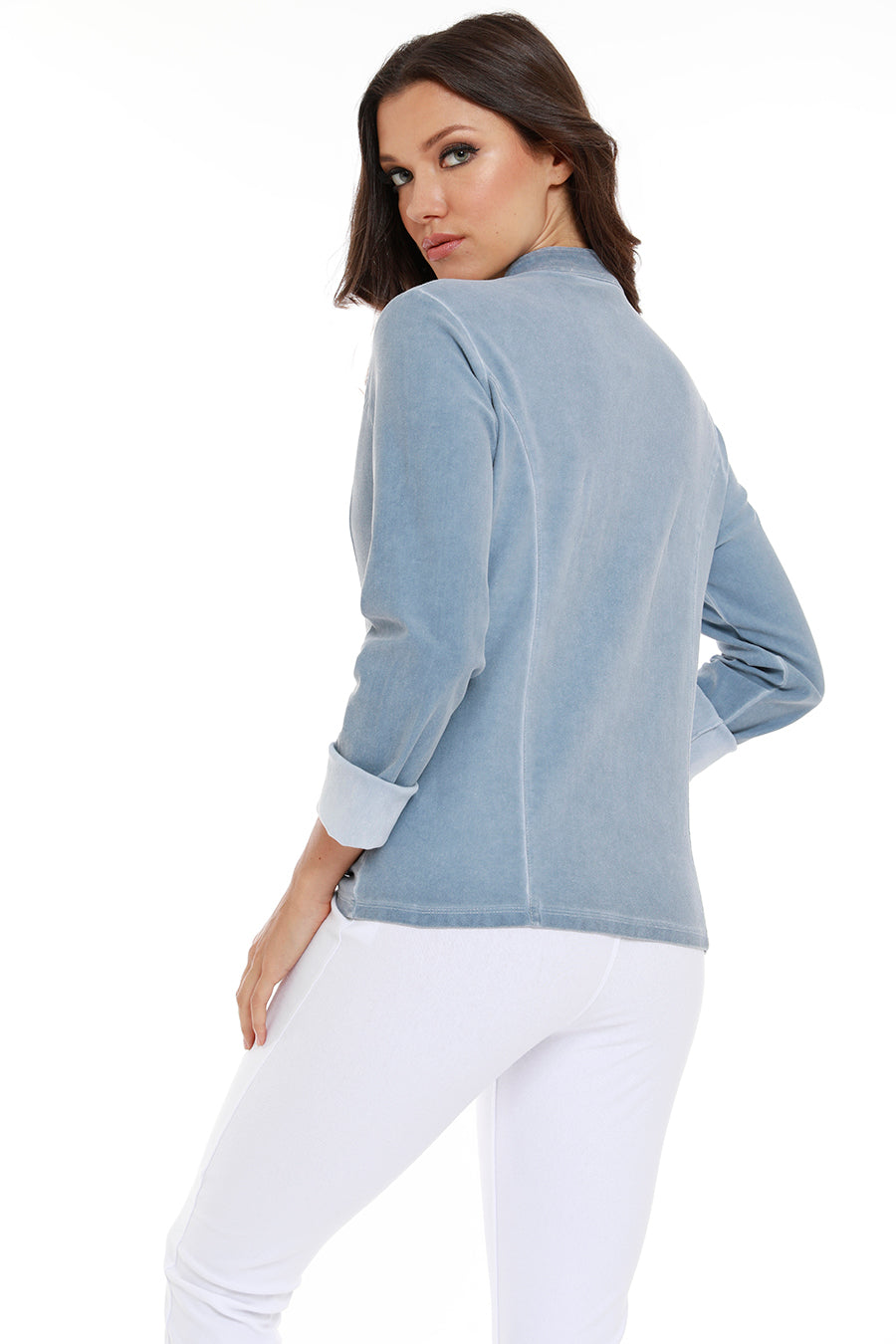 Mikayla Short Zip Up Jacket