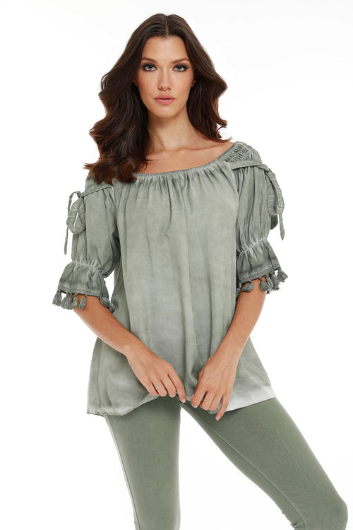 Leanne Off The Shoulder Top