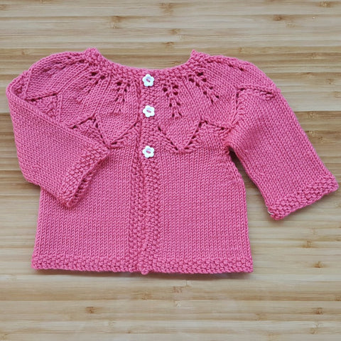 Baby Lace Cardigan Class; March 13th, 20th, 27th, 2018