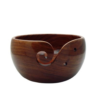 Wooden Yarn Bowls
