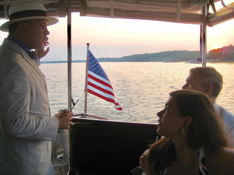Reception cruise aboard the Lady Grace at Palmetto Bluff
