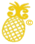 The Charleston Carry Pineapple Logo