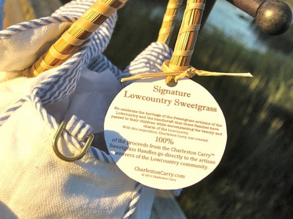 Signature Lowcountry Sweetgrass Label