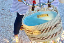 The NEW Original Sweetgrass Bicycle Basket