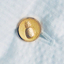 Signature Brass Pineapple Button