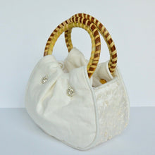 The Southern Pearl Wedding Purse Side