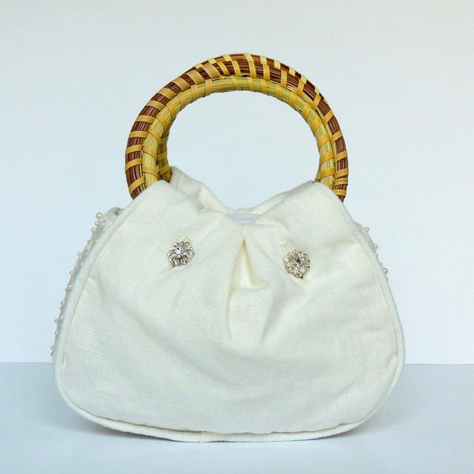 Charleston Carry Southern Pearl Wedding Purse Front