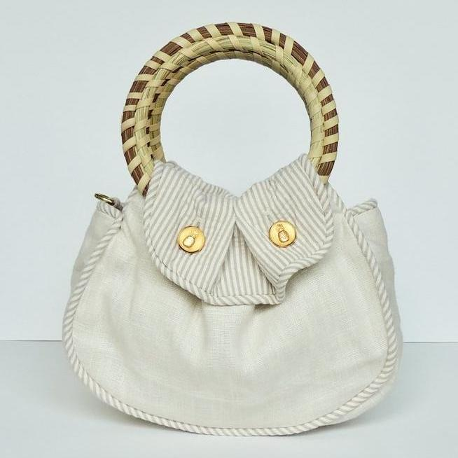 The Southern Sipper Purse Kiawah Dune Front