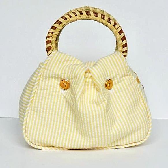 Charleston Carry Southern Sipper Purse Pineapple Slice Front