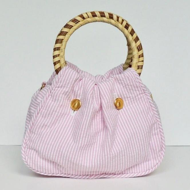 Charleston Carry Southern Sipper Purse Pink Row Front
