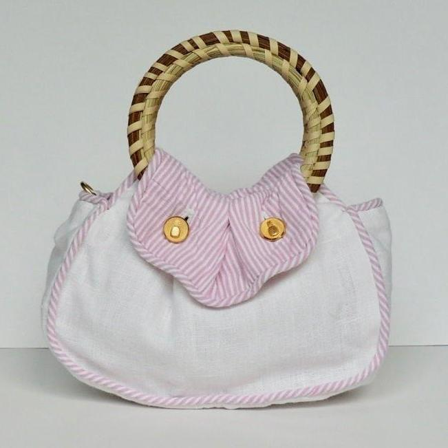 The Southern Sipper Purse Pink Row Reverse