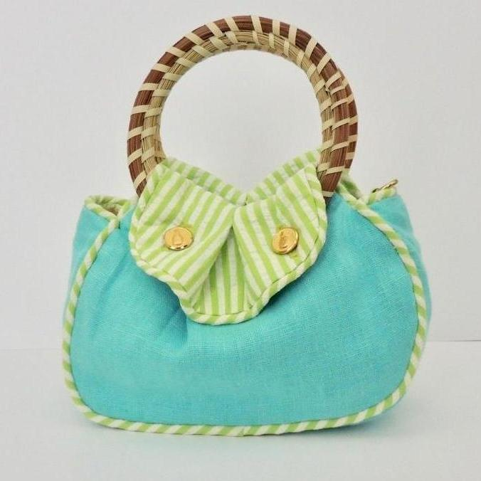 The Southern Sipper Purse Secret Garden Reverse
