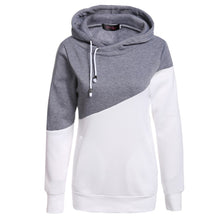 Tracksuit Women Sweatshirt Patchwork Hoodies Long Sleeve Female Pullover Loose Top Sweatshirts